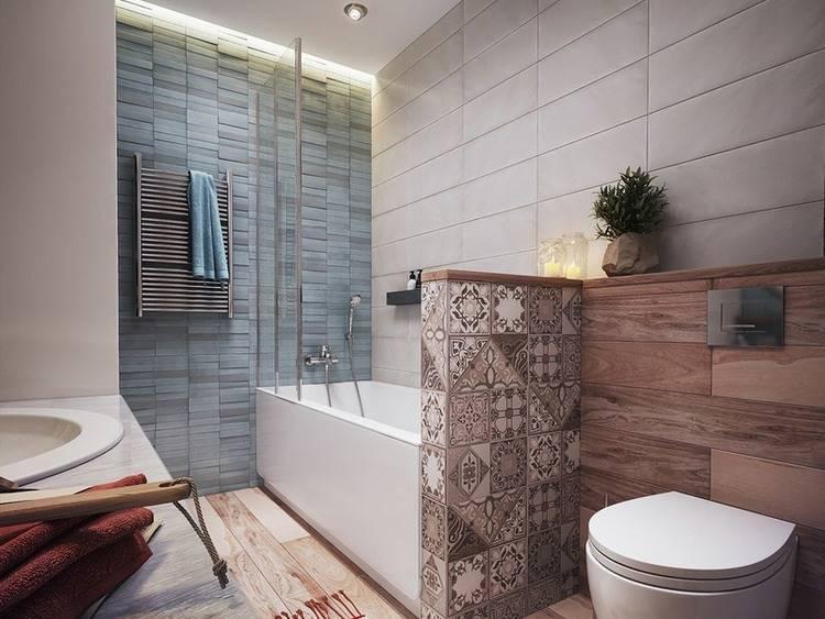 Дизайн ванной комнаты 2020-2021 - современные идеи с 90 фото