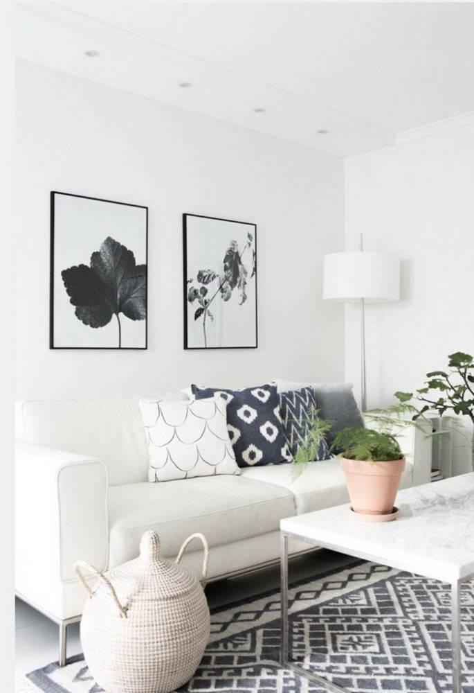 Белый цвет в интерьере - 75 фото белоснежного интерьерадекор и дизайн интерьера
