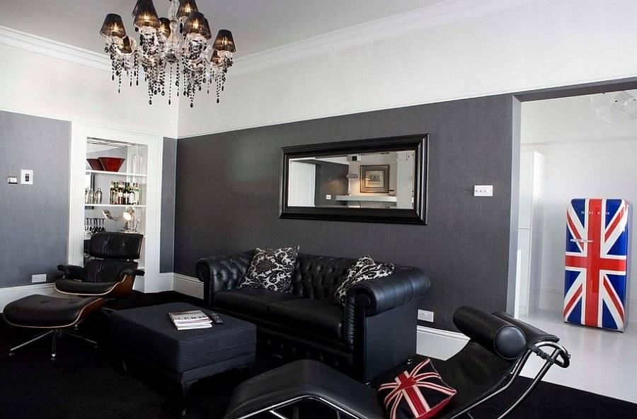 Темная мебель в интерьере +30 фото примеров дизайна