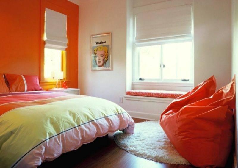Оранжевый цвет в интерьере: характеристики и особенности 87 фото