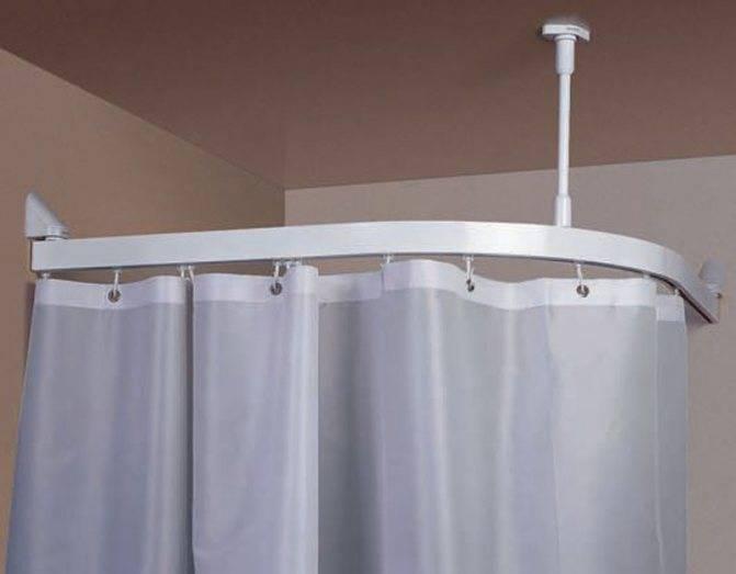 Выбираем штангу для шторки в ванную комнату