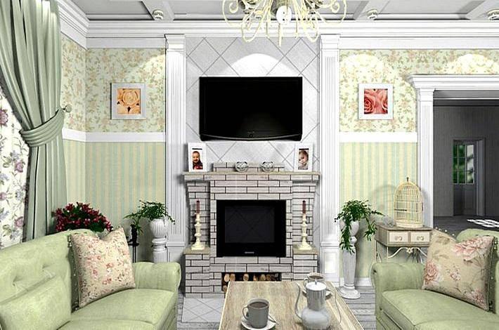 Обои в стиле прованс: 60+ уютных вариантов дизайна, фото и идеи