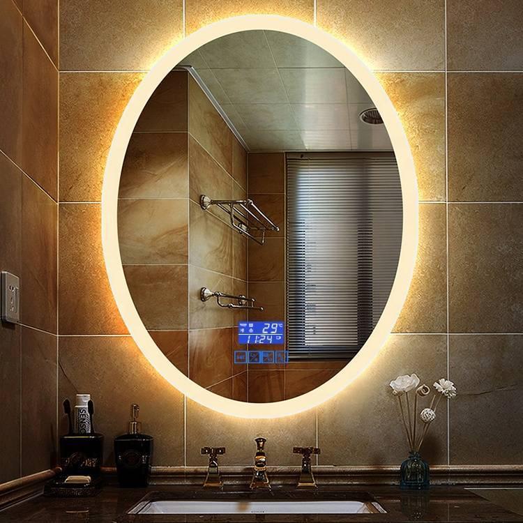 Зеркало с подсветкой в ванную комнату: разбираем нюансы выбора и правила установки