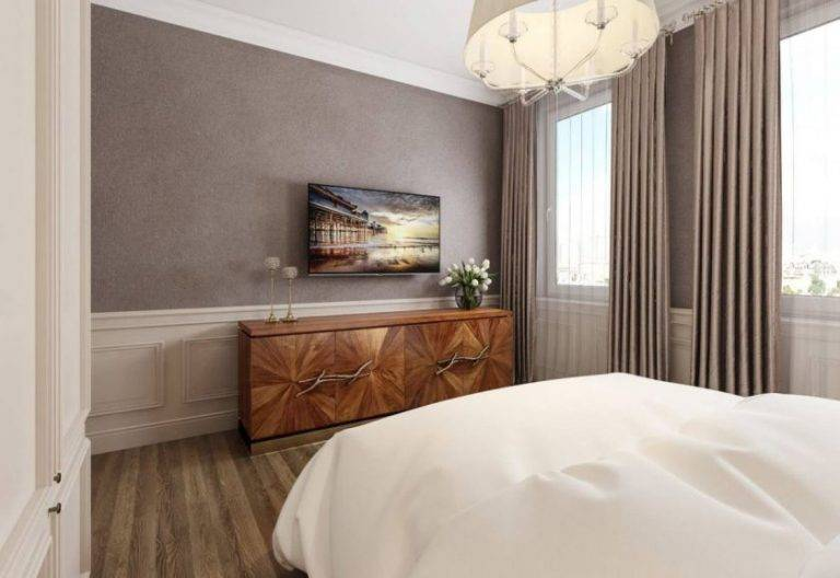 Реальный дизайн спальни 12 кв м фото