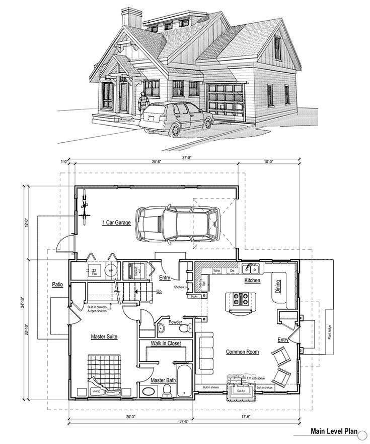Чертежи дома: от наброска и эскиза до готового проекта | пилорамово