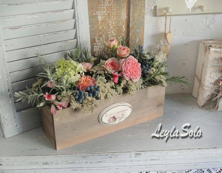 Деревянные ящики для цветов (44 фото): как изготовить ящик из дерева своими руками? особенности декоративных флористических моделей