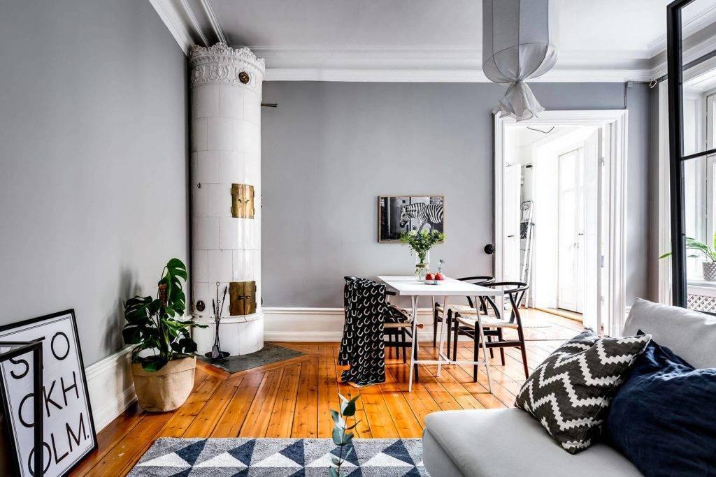 Шведский стиль в интерьере: примеры дизайна квартиры и дома, кухни, мебель, отделка и характерные стилю аксессуары