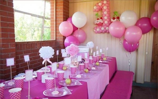 Как украсить детский стол на день рождения: идеи для праздника дома и в кафе