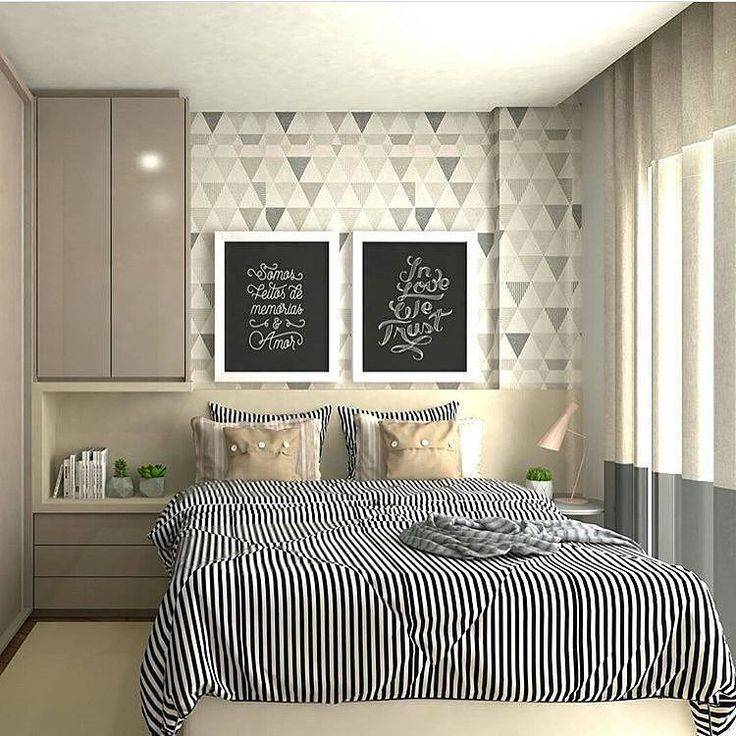 Спальня 10 квадратных метров: идеи, приемы и советы по обустройству дизайна
