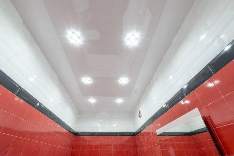 Как сделать потолок в туалете – варианты и способы монтажа