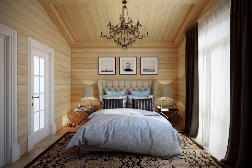 Деревянная спальня - основные стили и важные моменты при оформлении спальни