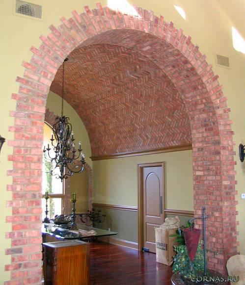 Отделка арки декоративным камнем +50 фото - «декор» » «дизайна интерьера»