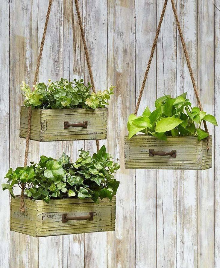 Красивые деревянные ящики, сделанные своими руками