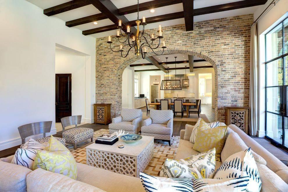 Гостиная в итальянском стиле - 35 фото интерьеров
