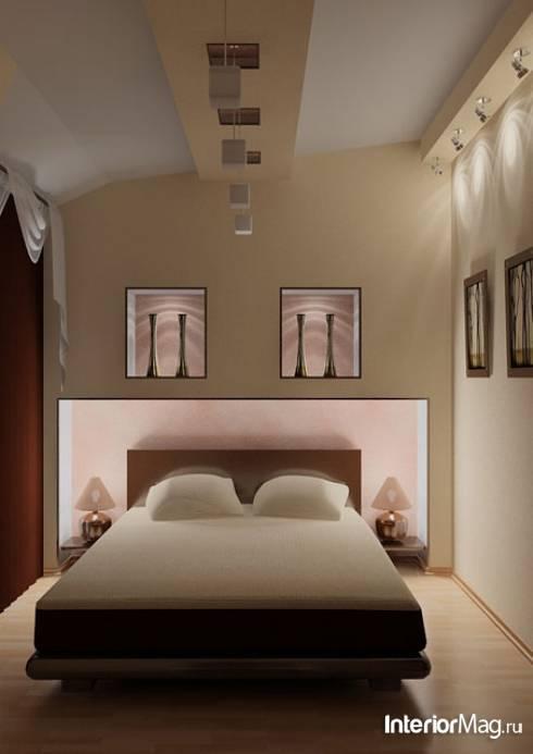 Узкая спальня в хрущевке — варианты дизайна с 30 реальными фото