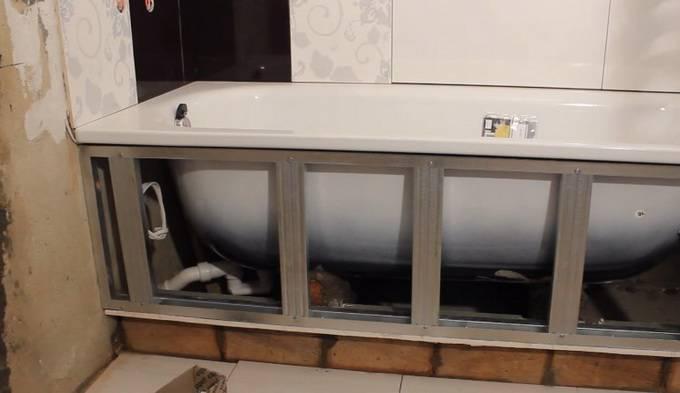 Выбираем экран для ванной: обзор 7-ми вариантов моделей на любой вкус и кошелек