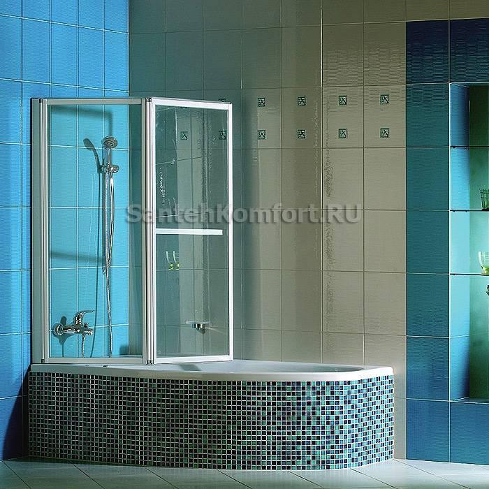 Раздвижная ширма для ванны: особенности выбора и устройства защитной конструкции от брызг