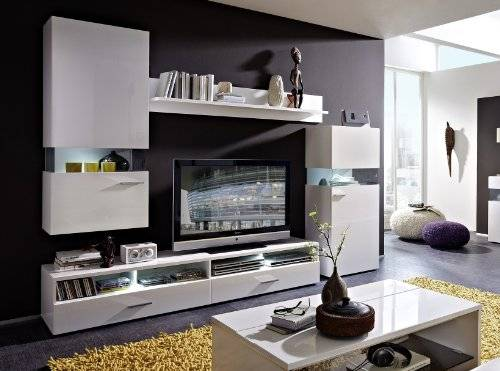 Стенки в гостиную (50 фото): красивая мебель в зал, мебельные шкафы из гипсокартона, встроенные модели с комодом, вместительные подвесные варианты