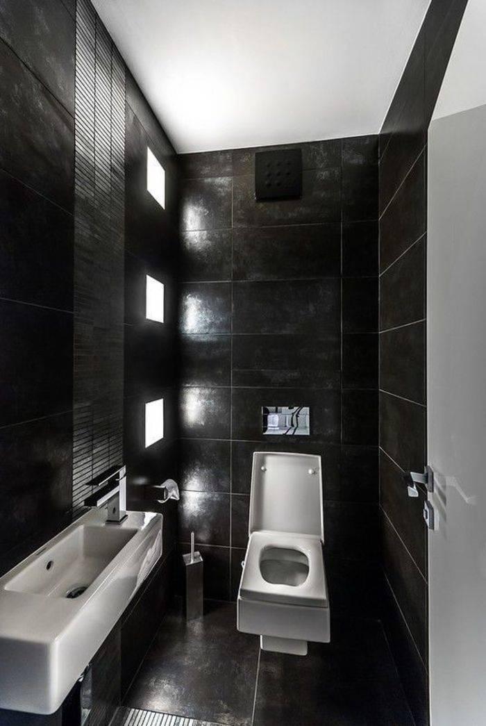 Современные стандарты оформления ванной в стиле хай тек (49 креативных идей)