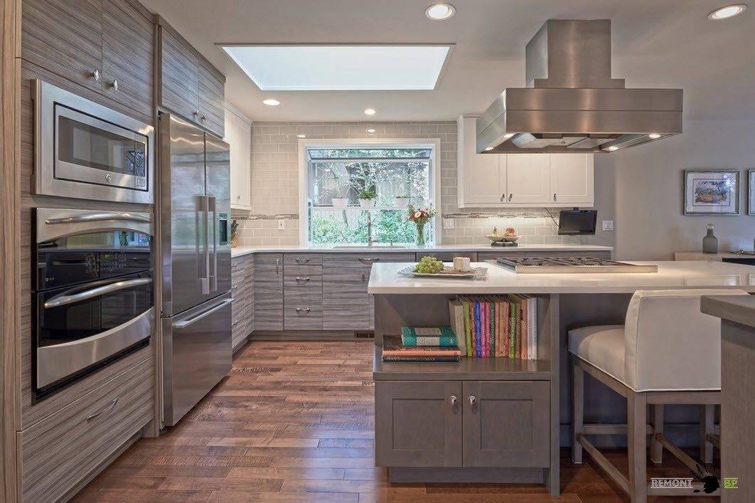 Дизайн маленькой кухни: идеи обустройства интерьера