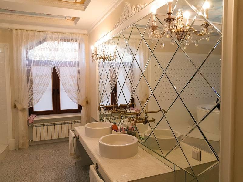 Зеркальная плитка в интерьере квартиры – фото