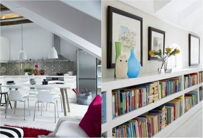 Дизайн интерьера белой кухни – эффектный и нежный