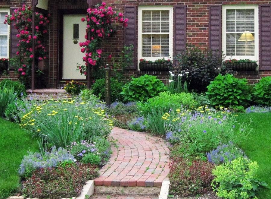 Сад в английском стиле - описание и фото