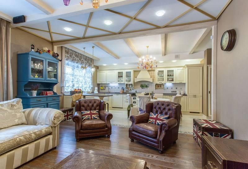 Интерьер квартиры в английском классическом стиле