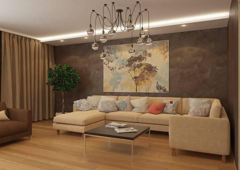 Идеи оформления зала в квартире