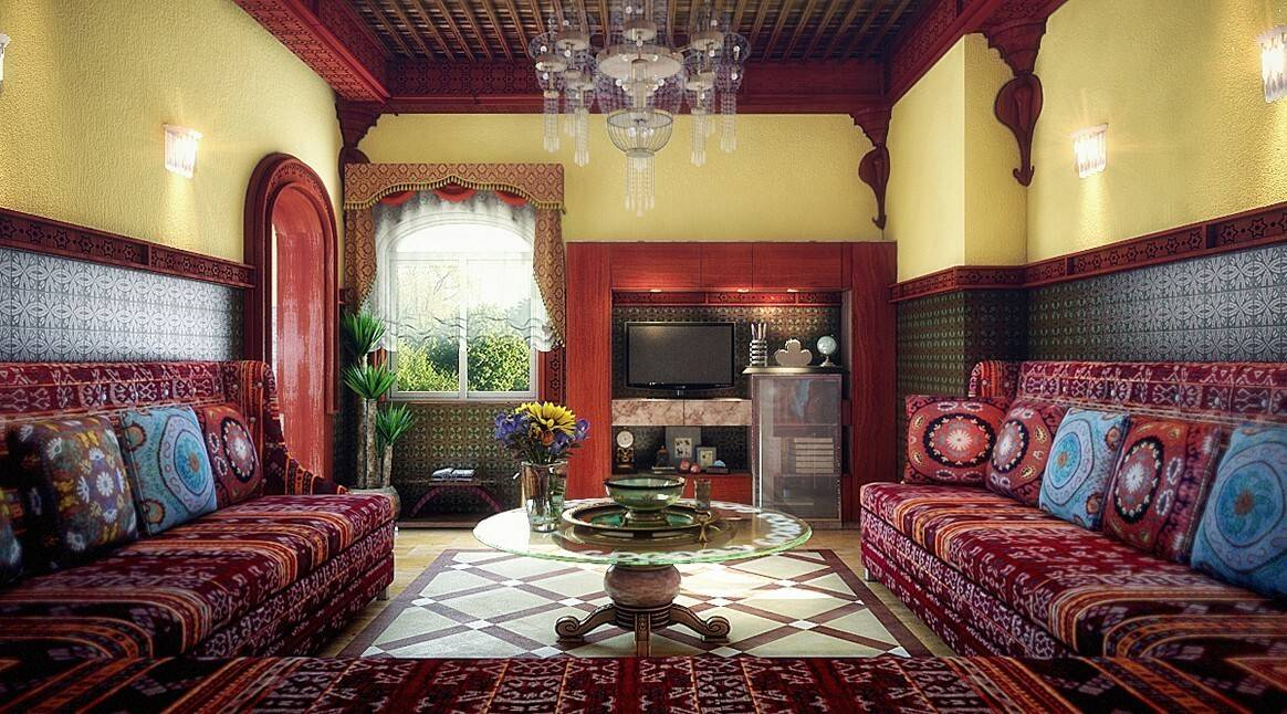 Марокканский стиль в интерьере спальни: 86 фото с идеями дизайна и декора