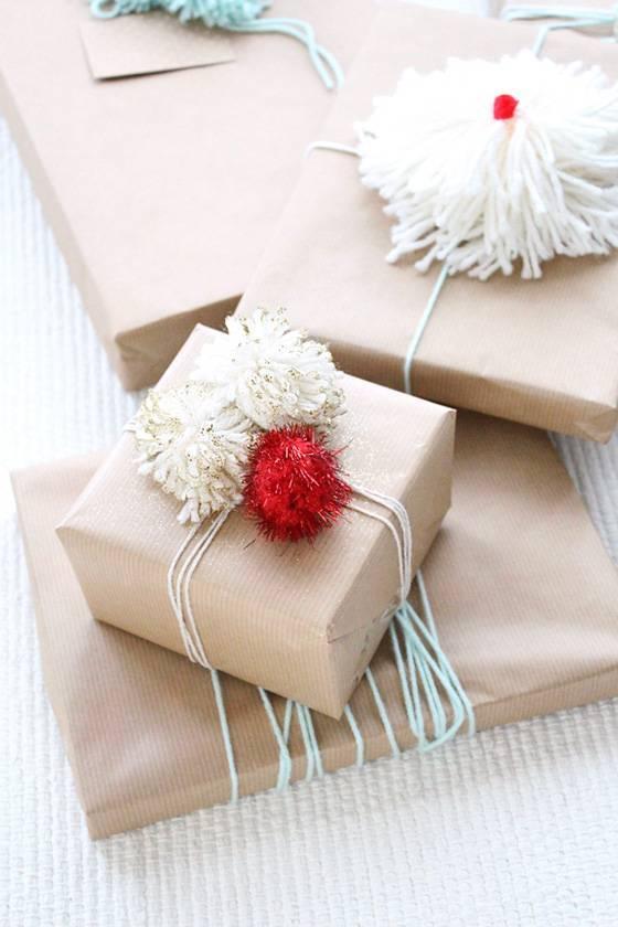 Как упаковать большой подарок?