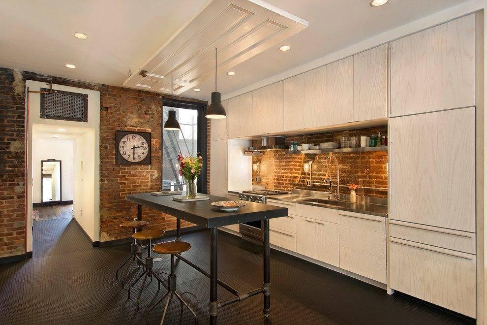 Кухня в стиле лофт – фото дизайна интерьеров кухонь в лофт-квартире