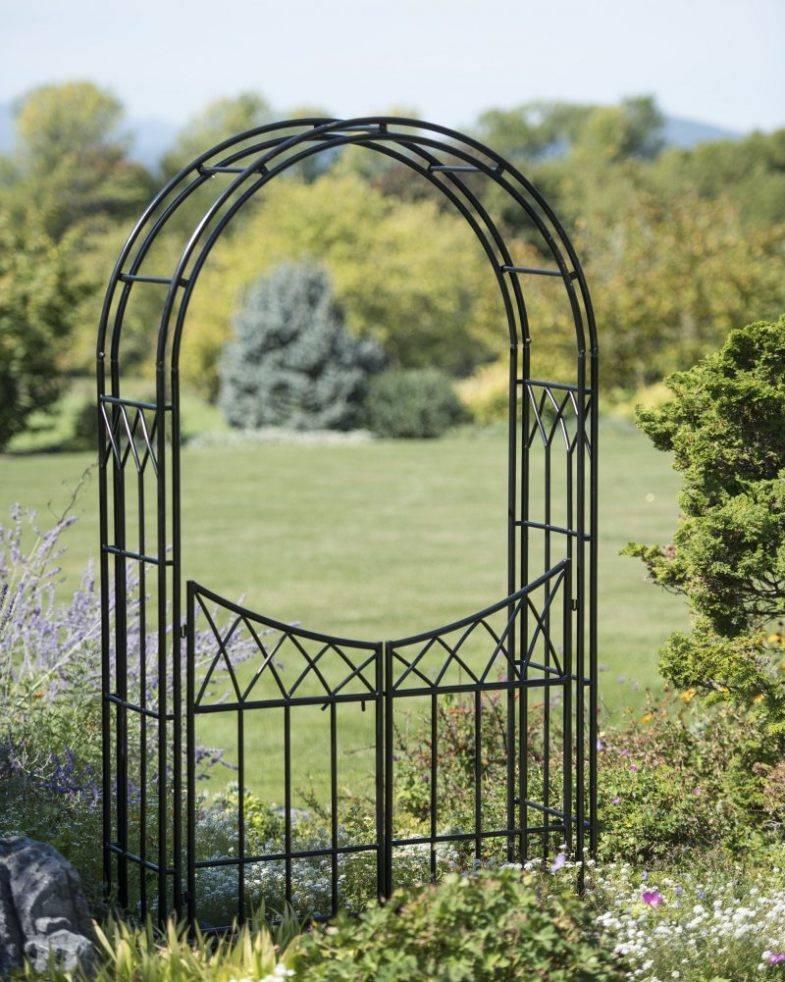 Красивая садовая арка: стильные и оригинальные арки и их применение в ландшафтном дизайне (95 фото + видео)