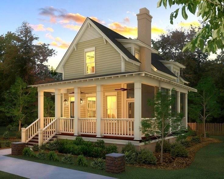 Дом с террасой: красивые варианты построек