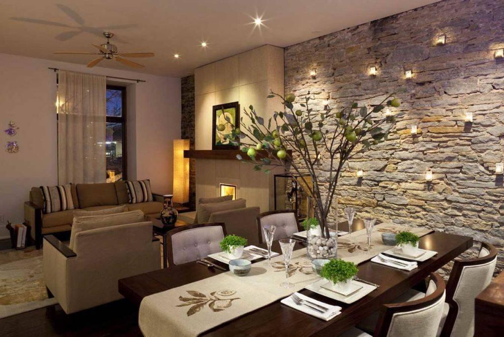 Варианты декора стен в гостиной для разных стилей
