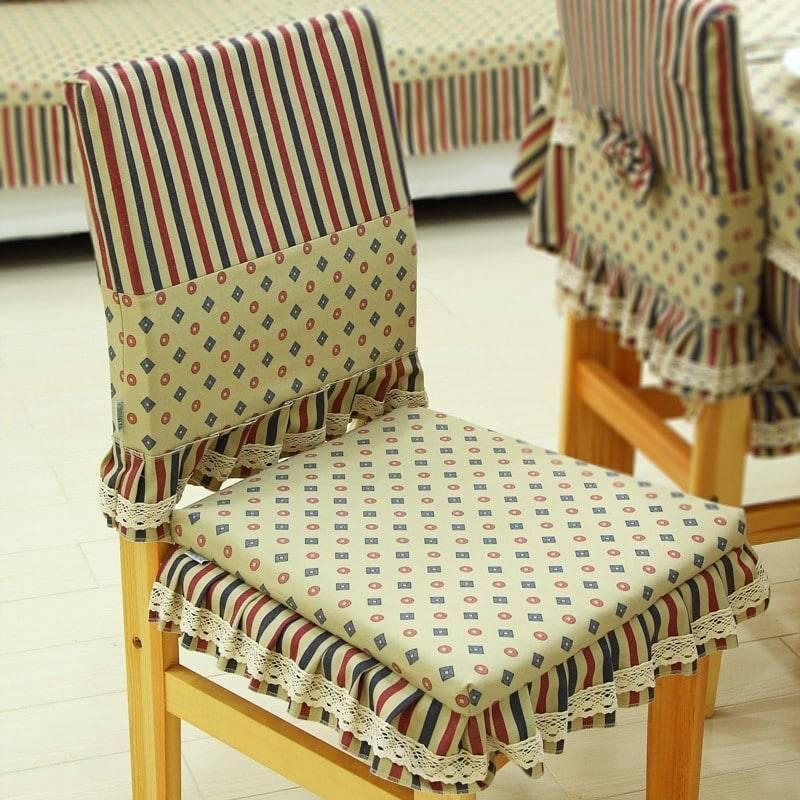 Чехол на стул своими руками - 130 фото лучших идей, схемы и выкройки для начинающих