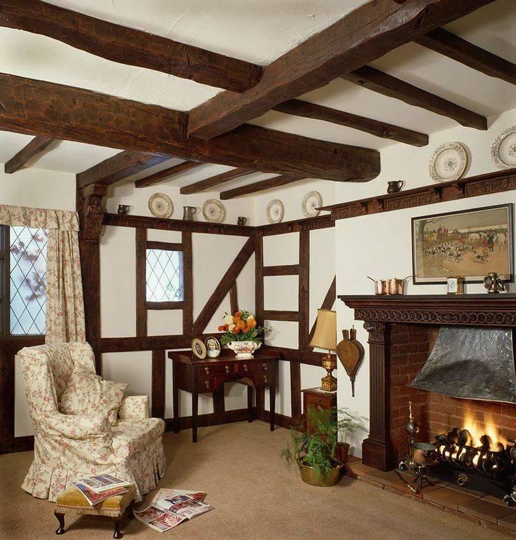 Балки на потолке — фальшбалки на потолок, потолочные балки из гипсокартона, из дерева, натяжной потолок с декоративными балками, с имитацией балок