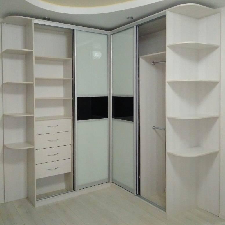 Угловой шкаф купе в спальню, фото популярных моделей и рекомендации