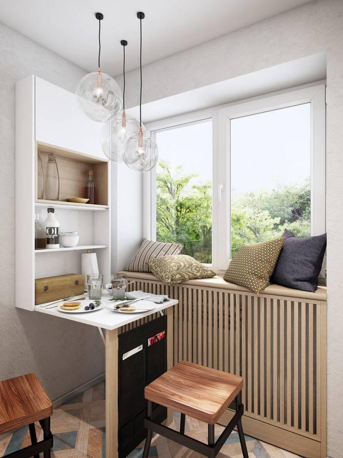 Комфортная кухня площадью 4 квадрата: как вместить все
