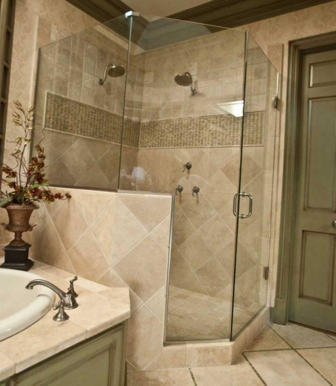 Дизайн и отделка ванной комнаты плиткой (132 фото): варианты керамической облицовки на площади 4 м2, идеи для оформления интерьера помещения