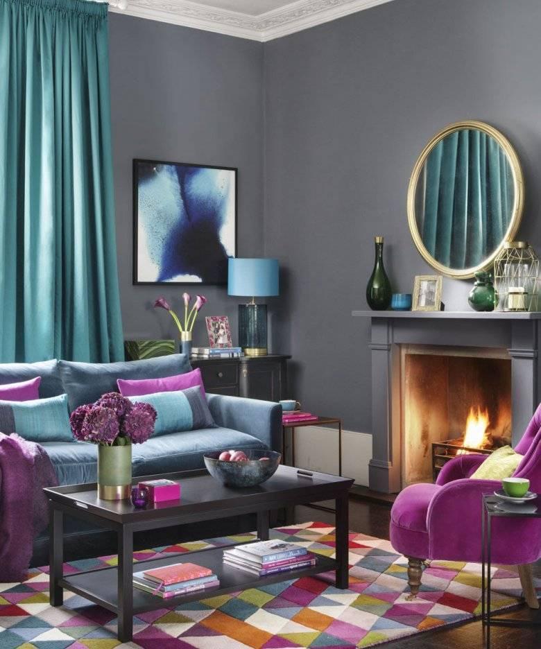 Серый цвет в дизайне интерьера, варианты сочетаний, фото